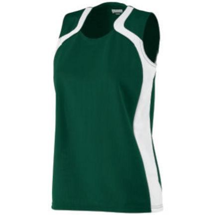 Ladies' Wicking Mesh Endurance Jersey / Tank Top (2X-Large) from Augusta Sportswear
