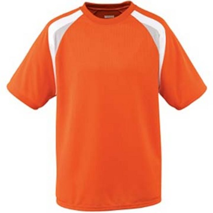 Youth Wicking Mesh Tri-Color Soccer Jersey from Augusta Sportswear