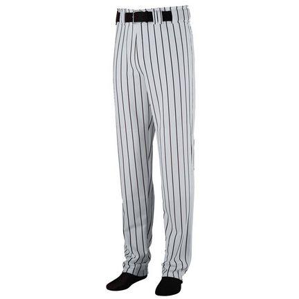 Striped Open Bottom Baseball/Softball Pants from Augusta Sportswear
