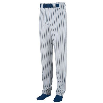 Striped Open Bottom Baseball/Softball Pant - Youth from Augusta Sportswear