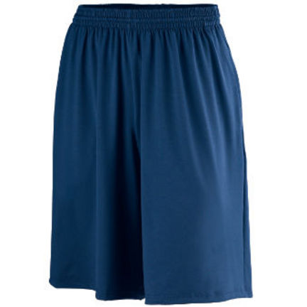 Adult Poly / Spandex Shorts with Pockets from Augusta Sportswear (Adult 2-XL)