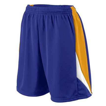 Ladies Wicking Duo Knit Attack Basketball Shorts from Augusta Sportswear