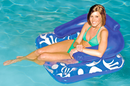 Inflatable   Lounger   Lounge   Float   Pool