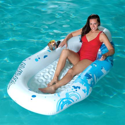 "Breeze"""" Inflatable Pool Float"" AVI-1020199"