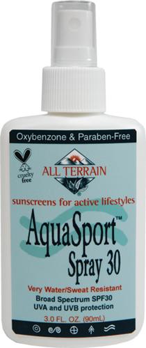 Water Resistant Sunscreen Spray SPF 30 by AquaSport®