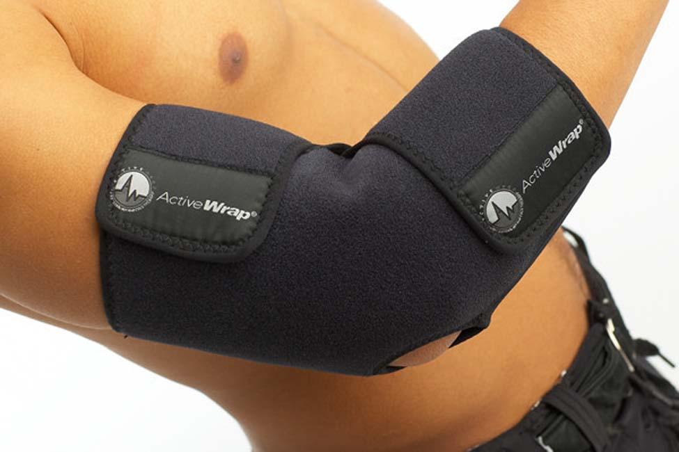 """Ice / Heat Elbow Wrap by ActiveWrap® (Small/Medium - 10-16"""" Elbow)"""