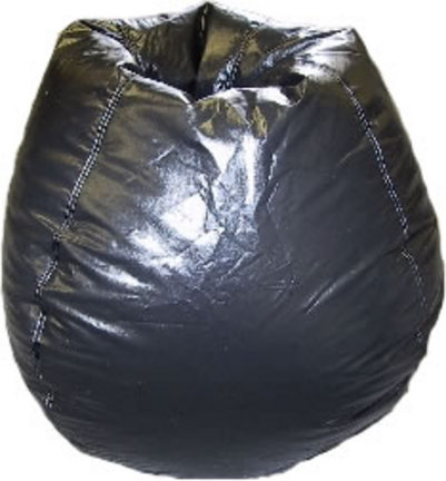 Black Primary Bean Bag Chair