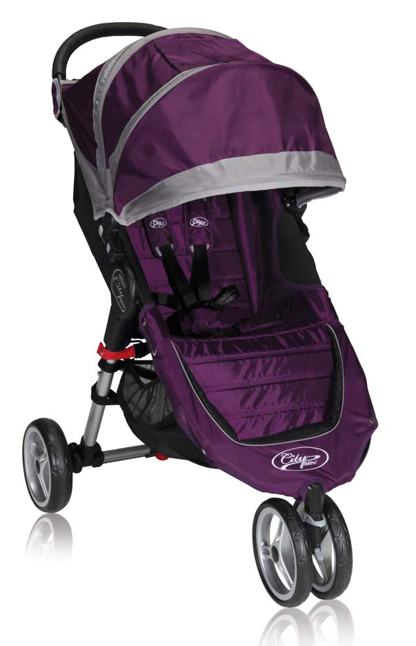 Click here for City Mini™ Single Stroller (Purple / Gray) f... prices
