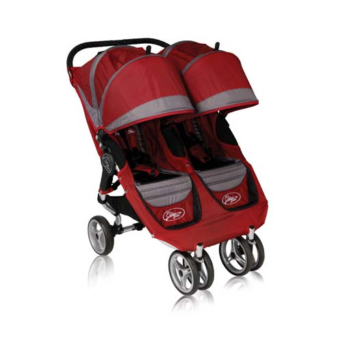 Click here for City Mini™ Double Stroller (Crimson / Gray)... prices