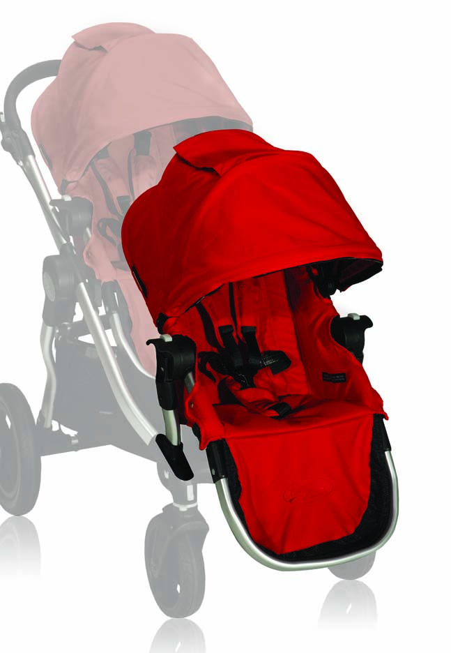 Baby Jogger City Select Second Seat Kit Ruby For Sale
