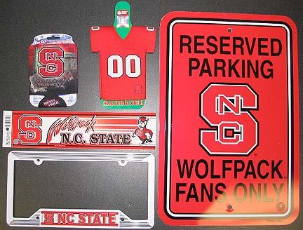 North Carolina State Wolfpack Die Hard College Fan Pack