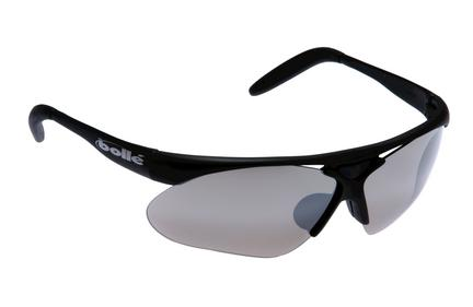 Golf Performance Parole Sunglasses with Matte Black Frames and TNS Gun Lenses from Bolle
