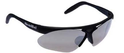 Action Sport Parole Sunglasses with Matte Black Frames and A-SES Lens Set (TNS Gun, Vermillon, Dark Cinnamon, Clear) Len