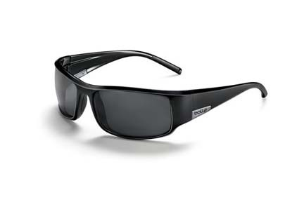 King Sport Collection Sunglasses (Shiny Black Frame and Polarized TNS Oleo AF Lenses) from Bolle