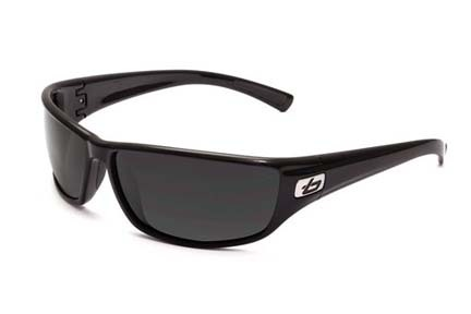 Python Sport Collection Sunglasses (Shiny Black Frame and TNS Lenses) from Bolle