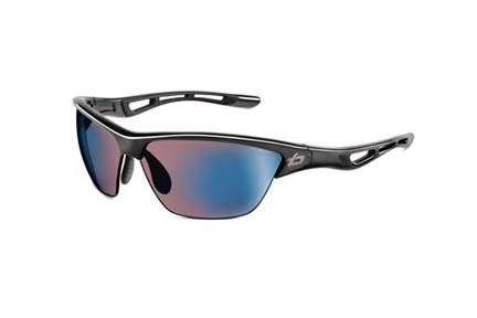 Helix Performance Collection Sunglasses (Crystal Smoke  Frame and Rose Blue Lenses) from Bolle
