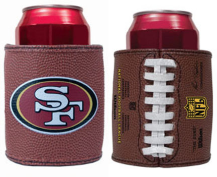 San Francisco 49ers Football Can Coozies / Coolers - Set of 2