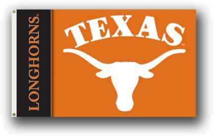 Texas Longhorns Premium 3' x 5' Two Sided Flag