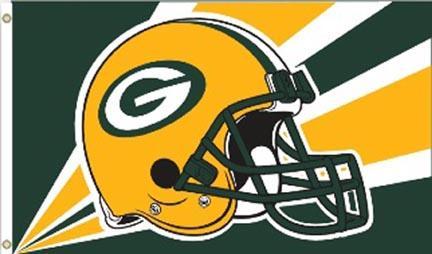 Green Bay Packers Premium 3' x 5' Flag BSI-94216B