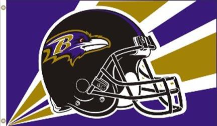 Baltimore Ravens Premium 3' x 5' Flag