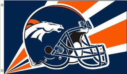 Denver Broncos Premium 3' x 5' Flag BSI-94232B
