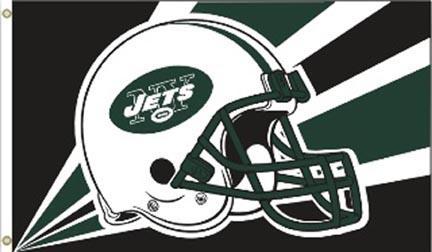 New York Jets 3 Ft. X 5 Ft. Flag W/Grommetts BSI-94239B