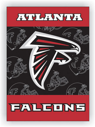 "Atlanta Falcons 28"""" x 40"""" Two Sided House Banner"" BSI-94820B"