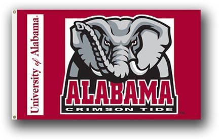 Alabama Crimson Tide Premium 3' x 5' Flag BSI-95002