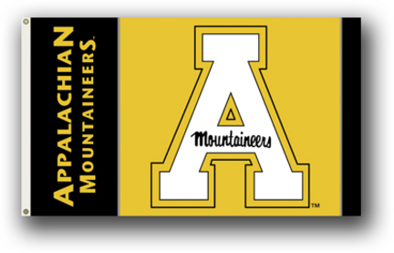 Appalachian State Mountaineers Premium 3' x 5' Flag BSI-95076