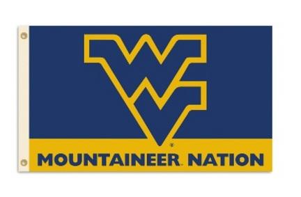 "West Virginia Mountaineers ""Mountaineer Nation"" Premium 3' x 5' Flag"