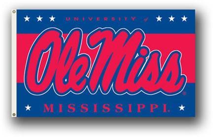 Mississippi Rebels 3 Ft. X 5 Ft. Flag W/Grommets BSI-95116