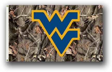 West Virginia Mountaineers Realtree Camouflage Premium 3' x 5' Flag