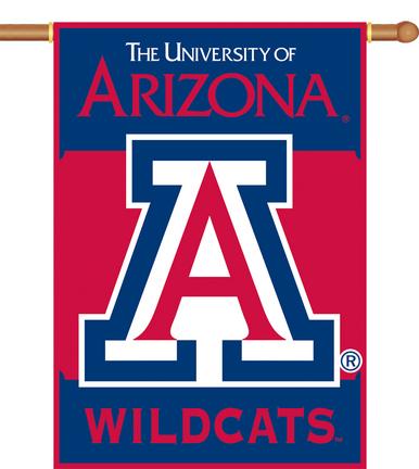 "Arizona Wildcats Premium 28"" x 40"" Two-Sided Banner"