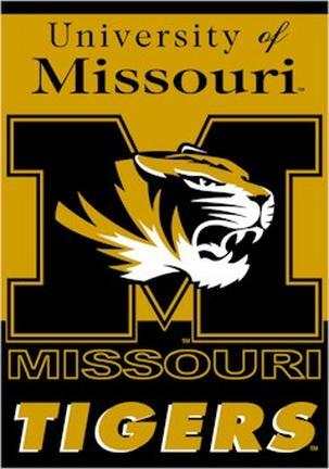 "Missouri Tigers Premium 28"" x 40"" Two-Sided Banner"