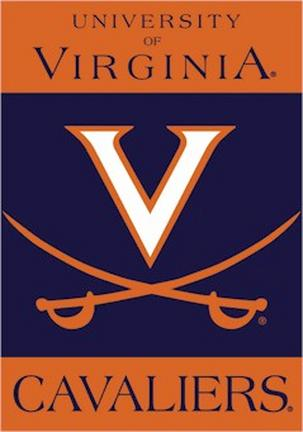 "Virginia Cavaliers Premium 28"" x 40"" Two-Sided Banner"