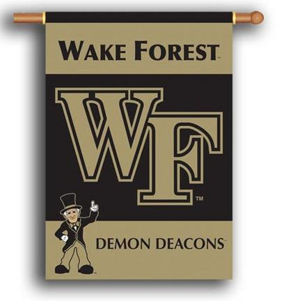 """Wake Forest Demon Deacons Premium 28"""" x 40"""" Two-Sided Banner"""
