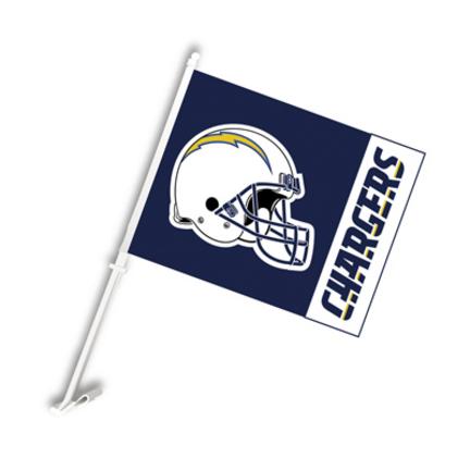 San Diego Chargers Car Flags - 1 Pair