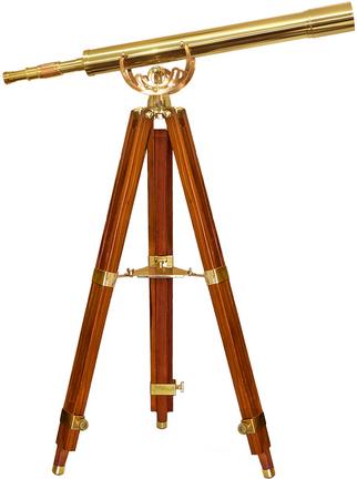Anchormaster 32x80 Spyscope with Mahogany Floor Tripod