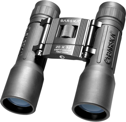 Lucid View 20x32 Compact Binocular with Blue Lens