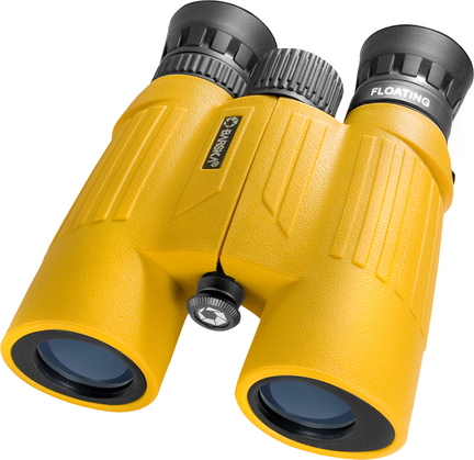 Floatmaster 10×30 Floating Binocular with Blue Lens (Yellow)
