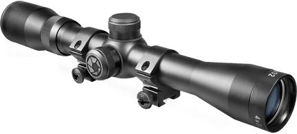 Plinker-22 4x32 Riflescope with 30/30 Reticle (Black Matte)