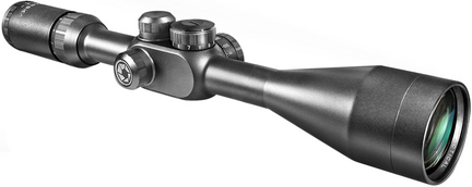 Tactical 4-16x50 Side Parallax Riflescope with Illuminated Reticle