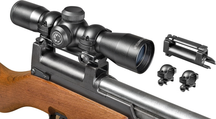 Compact Contour 4x32 Riflescope with 30/30 Reticle
