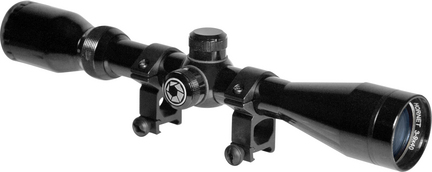 Hornet 3-9x40 Riflescope with Black Gloss Finish