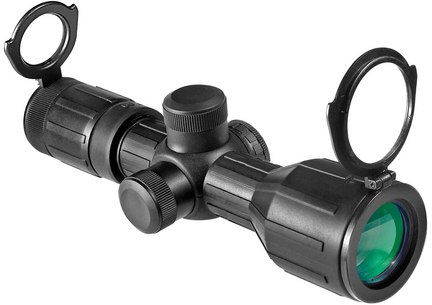 Contour 3-9x40 Riflescope with Illuminated Reticle
