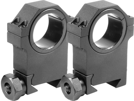"""30mm X-High HD Weaver Style Mounting Rings with 1"""" Insert (Set of 2)"""