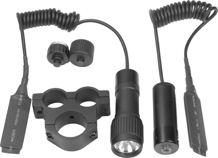 Tactical Red Laser Sight with Flashlight and Mount