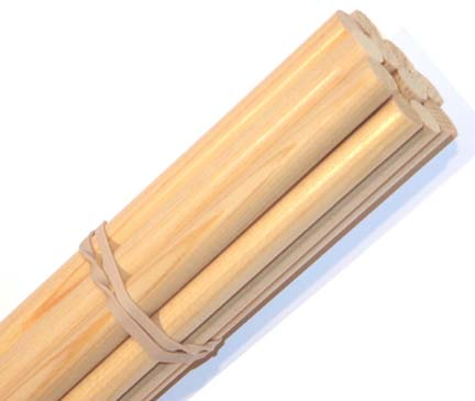 Premium Unfinished Cedar 5/16 Shafts (1000 Pack) from Hot Shot Manufacturing
