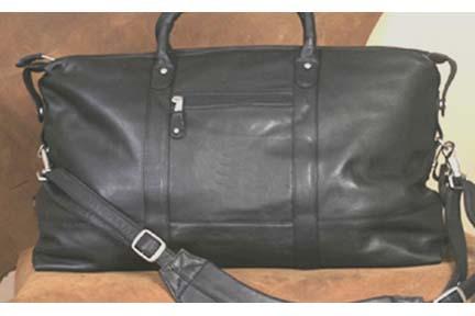 Falls Canyon Cabin Leather Duffel Bag
