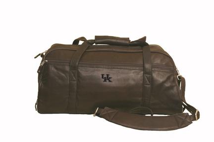 NCAA Kentucky Wildcats Marble Canyon Leather Sport Duffel / Bag